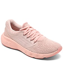 Women's Charged Vantage Knit Running Sneakers from Finish Line