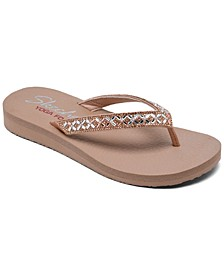 Women's Cali Meditation - Lotus Bay Flip-Flop Thong Sandals from Finish Line