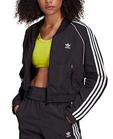 Women's Cropped Track Jacket
