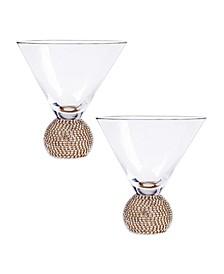Bling Martini Barware, Set of 2