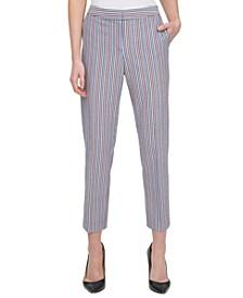 Cotton Sloane Striped Pants