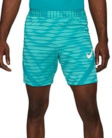 Men's Slim-Fit Striped Soccer Shorts