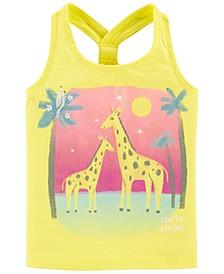 Baby Girls Giraffe Racer Back Tank