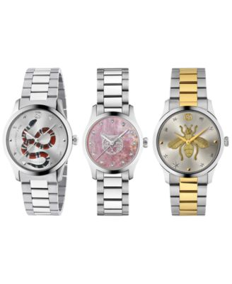 Unisex G-Timeless Two-Tone Stainless Steel Bracelet Watch 38mm
