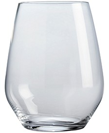 CLOSEOUT! Stemless Wine Glasses, Set of 4