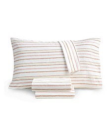 Printed Microfiber 4 Pc. Sheet Set, King, Created for Macy's