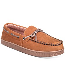Men's Moccasin Slippers, Created for Macy's