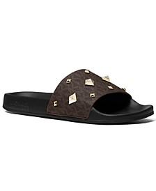 Women's Gilmore Studded Slide Sandals