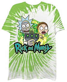Men's Ricy and Morty Tie Dye Short Sleeve T-shirt