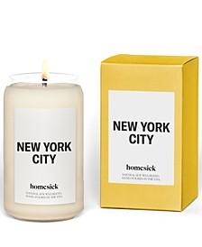 New York City Candle, Bergamot & Lemon Scented