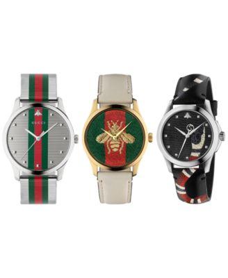 Unisex Swiss Le Marché Des Merveilles Brown Leather Strap Watch 38mm YA126451
