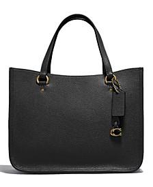 Tyler Leather Carry All Shoulder Bag
