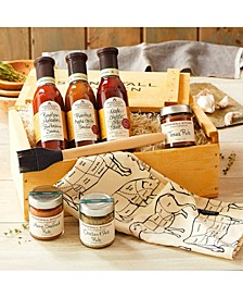 Grilling Favorites Gift Crate, 7 Piece