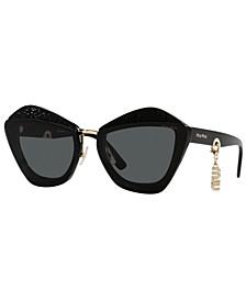 Women's Sunglasses, MU 01XS 67