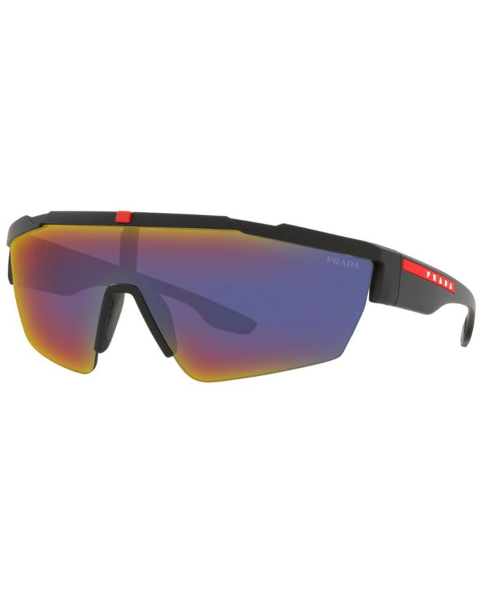 Prada Linea Rossa Men's Sunglasses, PS 03XS 44 & Reviews - Sunglasses by Sunglass Hut - Men - Macy's