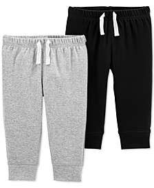 Baby Boys Two-Pack Pull-On Pants