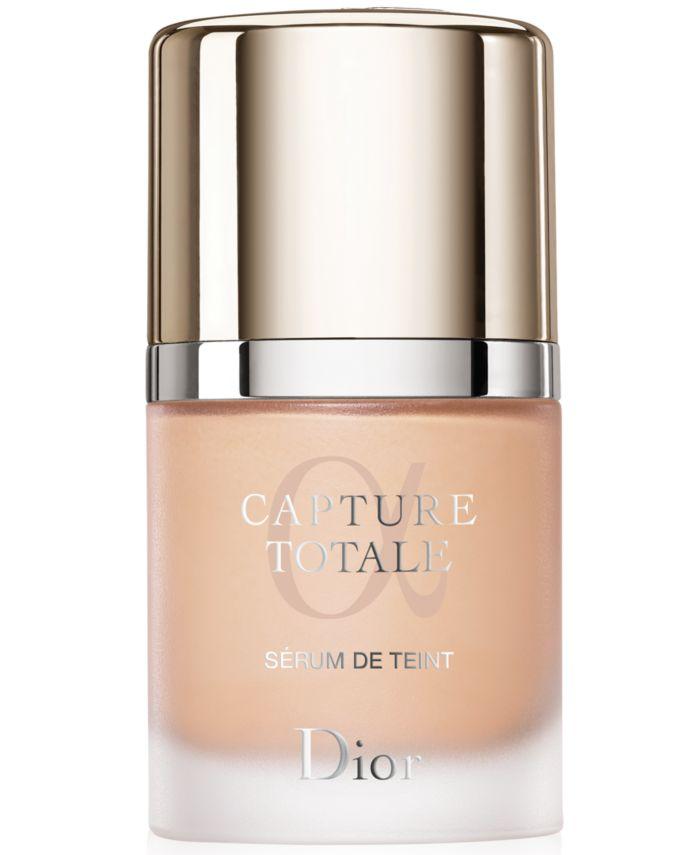 Dior Capture Totale Foundation SPF 25, 1 oz. & Reviews - Foundation - Beauty - Macy's