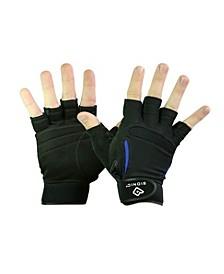 Men's Synthetic ReliefGrip Fitness Fingerless Gloves