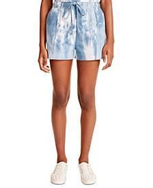 Juniors' Tie-Dye Shorts