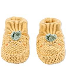 Baby Boys & Girls Turnip Crochet Booties