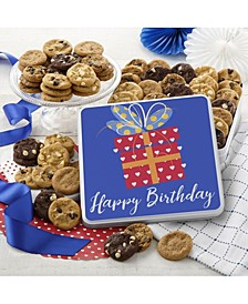 Happy Birthday 60 Nibblers Cookie Gift Tin