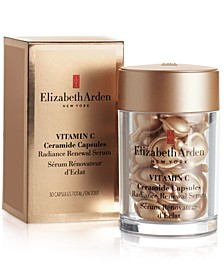 Get Even More! Receive a FREE Full-Size Vitamin C Ceramide Capsules Serum (30 Capsules) with any $125 Elizabeth Arden Purchase. Total gift up to a $170 value!