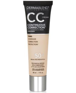 Continuous Correction Cc Cream Spf 50+