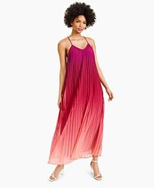 Pleated Ombré Maxi Dress, Created for Macy's