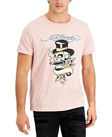 Men's Retro Skull Logo Graphic T-Shirt