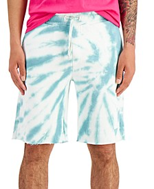 Men's Tie-Dyed Woven Shorts