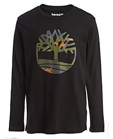 Big Boys Camo Tree Tee Shirt