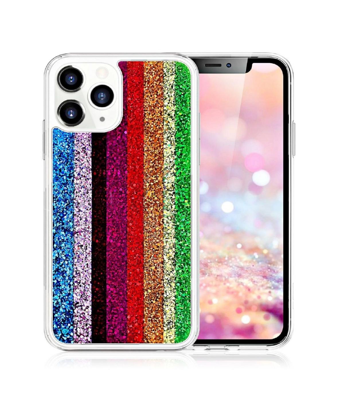 Milanblocks iPhone 11 Pro Rainbow Glitter Phone Case