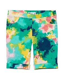 Little Girls All Over Print Bermuda Shorts