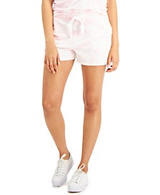 Plus Size French Terry Track Shorts, Created for Macy's