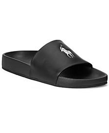 Men's Cayson Pony Logo Slide Sandals