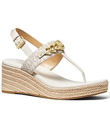 Roxane Espadrille Wedge Sandals