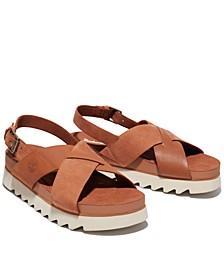 Women's Santa Monica Sunrise Crisscross Sandals