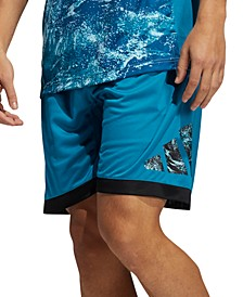Men's CLIMACOOL Ball for the Oceans Basketball Shorts