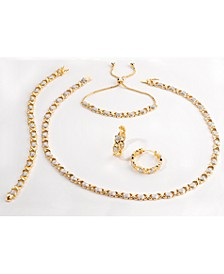 Diamond Accent Hearts Jewelry Collection in Gold, Rose Gold or Fine Silver Plate