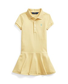 Stretch Piqué Polo Dress