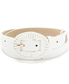 Wrapped-Buckle Panel Belt, Created for Macy's