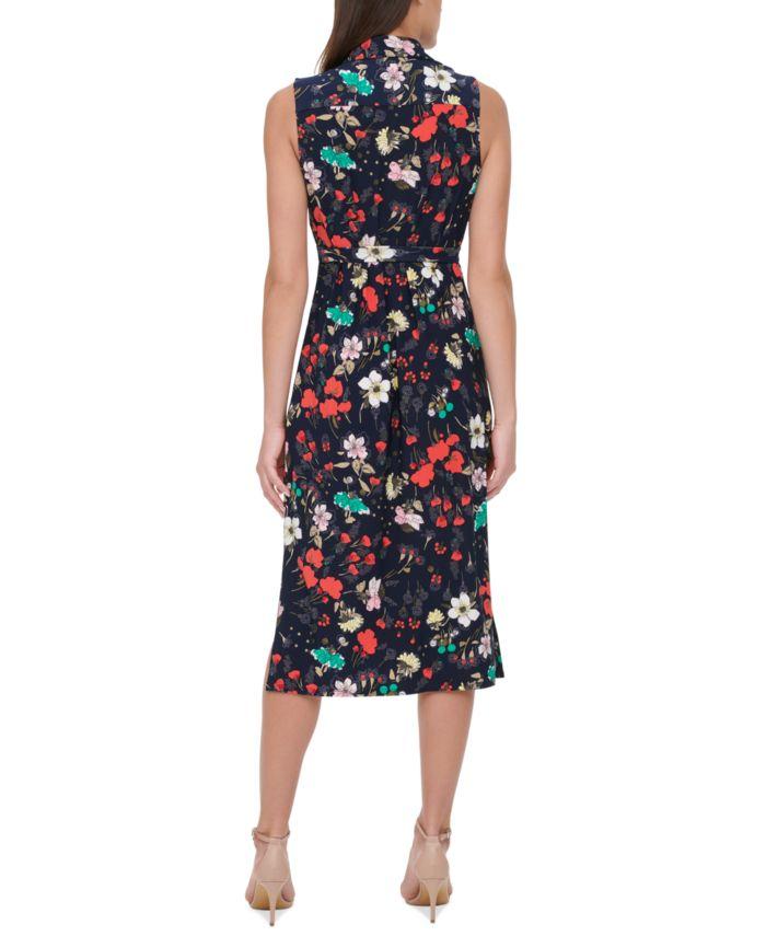Tommy Hilfiger Printed Jersey Shirtdress & Reviews - Dresses - Women - Macy's