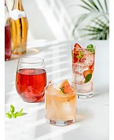 4 Piece Glassware Sets