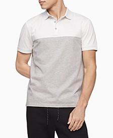 Men's Liquid Cotton Colorblocked Polo Shirt