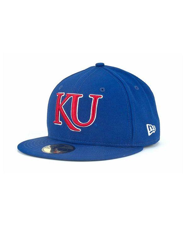 New Era Kansas Jayhawks 59FIFTY Cap
