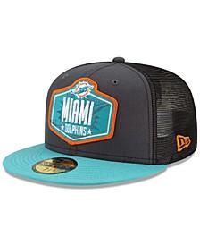 Miami Dolphins 2021 Draft 59FIFTY Cap