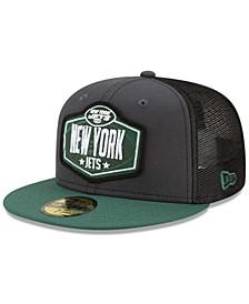 New York Jets 2021 Draft 59FIFTY Cap