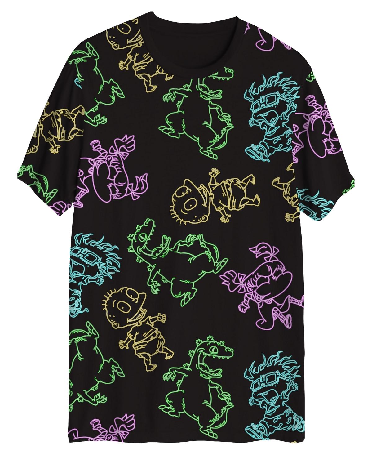 Rugrats Neon Men's Ss Aop Tshirt