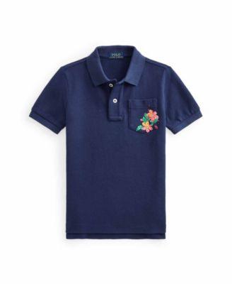 폴로 랄프로렌 남아용 폴로셔츠 Polo Ralph Lauren Toddler Boys Logo Polo Shirt,Dark Cobalt