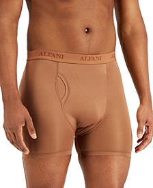 Men's Air Mesh Quick-Dry Moisture-Wicking Boxer Briefs, Created for Macy's